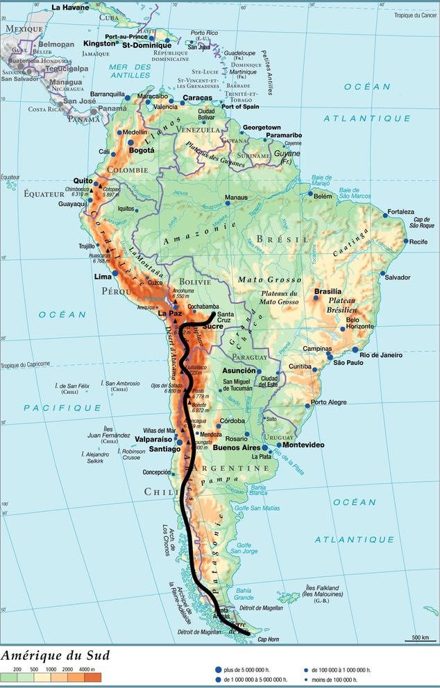 Amérique du Sud à vélo couché
